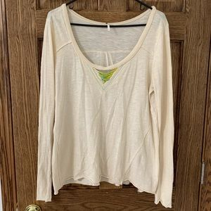 Free People Top with Beading